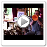 James Stretton - Plastic Trombone Solo