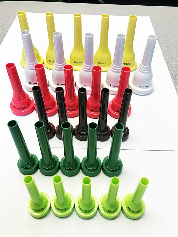 KELLY Mouthpieces - Bringing Color to Music!®