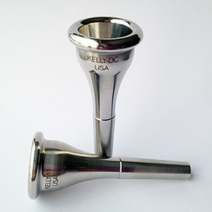 KELLY 316-Surgical-Stainless-Steel French Horn Mouthpieces